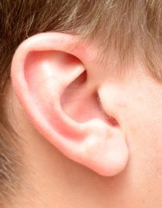 hereditary hearing loss - genetic testing - child's ear